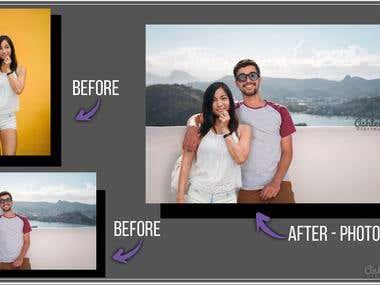 Photoshop Manipulation - Photo Editing