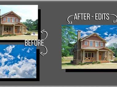 Photoshop Background Removal and Replacement