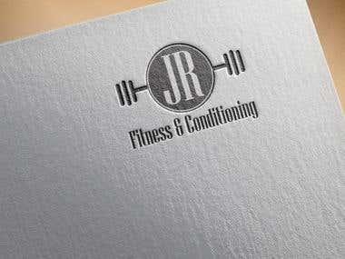 Logo Design for JR Fitness