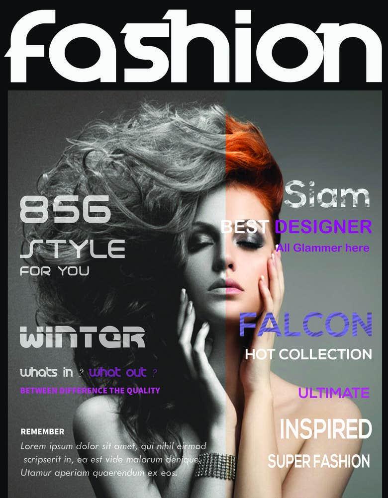 Magazine Cover Page Design Freelancer