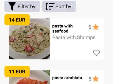 Food Search App