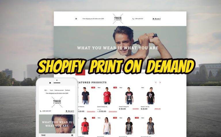 Shopify Print on demand | Freelancer