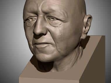 likeness face sculpting