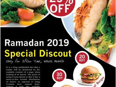 Flyer Design for Ramadan 2019