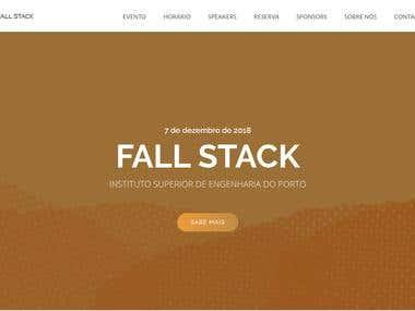 FallStack Event Website