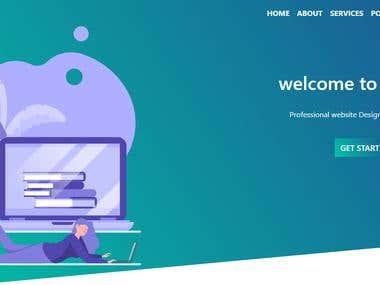 Modern Designed Website