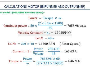 motor Calulation help, KV, Amp, Voltage.