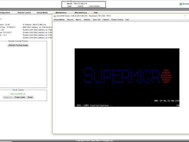 Embedded with SuperMicro Computer and administration