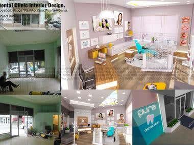 Dental Clinic Interior Design+ Clinic Facade Design