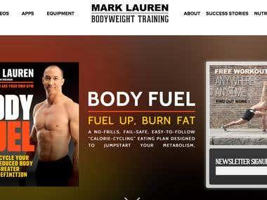 Mark Lauren Web Development