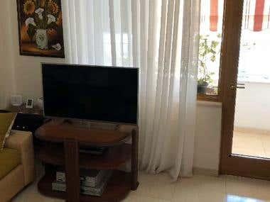 Living Room Furniture Design (Interior Design)
