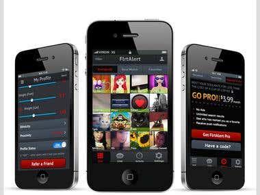 FlrtAlert: Best App to find Your Soul Mate iOS application