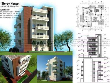 4 Storey Building