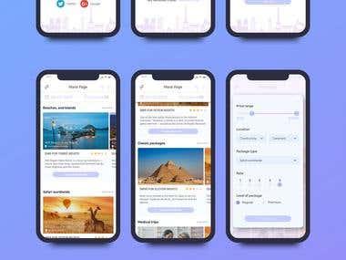 Minimalist UI design