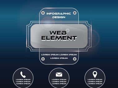 Info graphics design
