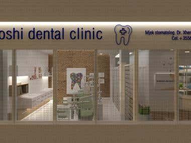 Dental Clinic (Interior Design)
