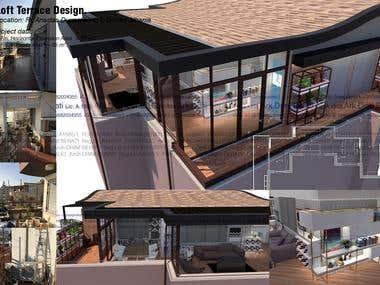Loft Terrace Design