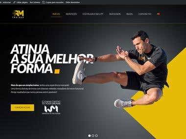 Wordpress Personal Trainer Website : https://rm-trainer.pt