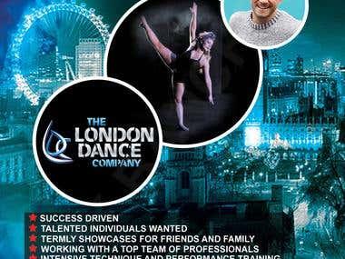 Dancing Poster Design