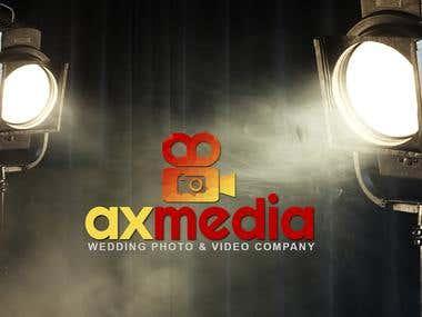 Axmedia Logo Design