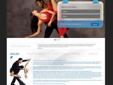Dance Website
