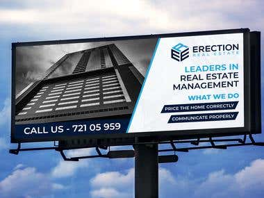 Billboard Advertisement Design
