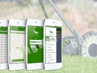 JoeMow - Mowing Service App