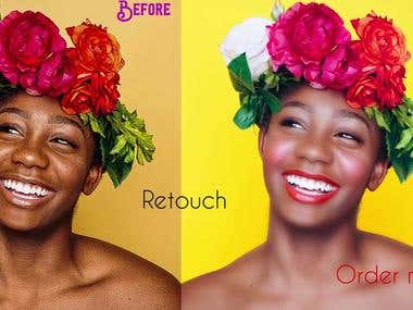 Retouch Or Edit Any Image