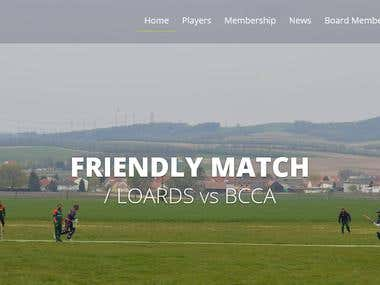 Sports Club Website By Codeigniter