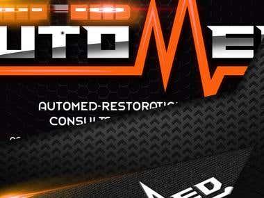 AUTOMED Logo Design
