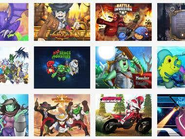 IOS Game Art assets