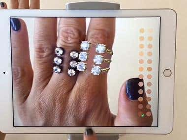 Jewelry Virtual Try On(AR App)