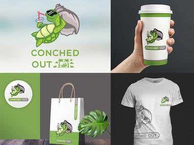 Beach house- sign logo - cnc design