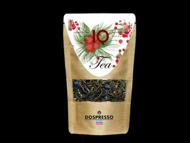 Tea with forest berries