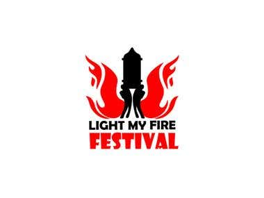 Logo of religion fire festival