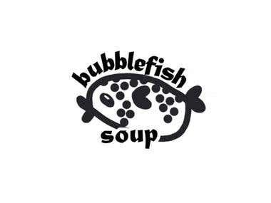 """BubbleFish"" logo for cosmetic company"