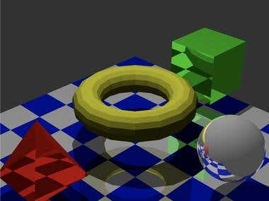 Ray Tracer in C++
