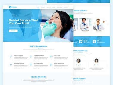 Dental Clinic Web Template