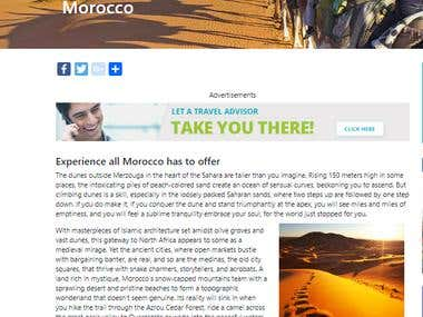 Morocco Travel Article