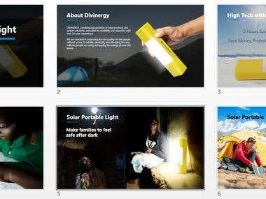 Solar product instruction
