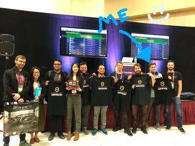 7th Place - Web Security Competition, Dev Week 2018