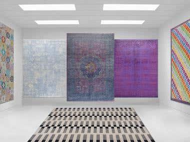 Usman Carpet House MOM ShowRoom Design