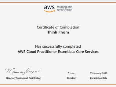 AWS Cloud Practitioner Essentials: Core Services