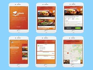 Edesia-Food ordering App