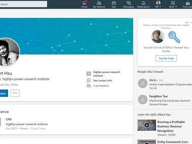 Linkedin Email Collect Of Owner, Director