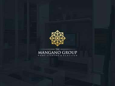Design a sophisticated logo for The Mangano Group