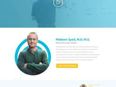 DrBeen purchase conversion landing page