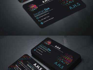 Business card for genetic
