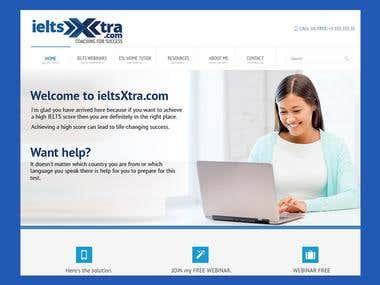 Wordpress site design and developement