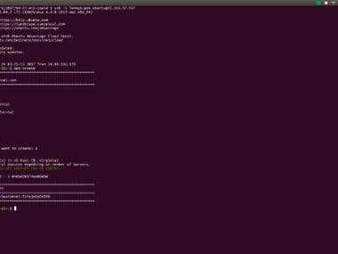 Amazon AWS Squid Proxy Server Creation with API